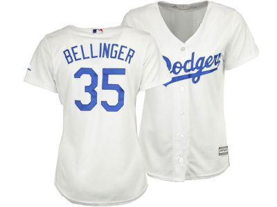 Los Angeles Dodgers Cody Bellinger Majestic MLB Women's Cool Base Player Replica Jersey