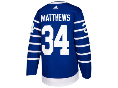 Toronto Maple Leafs Auston Matthews adidas 2017 NHL Men's Centennial Classic Authentic Player Jersey