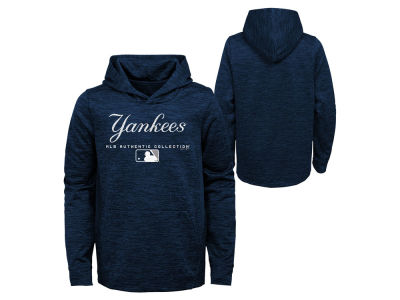 New York Yankees MLB Youth Team Drive Fleece Hoodie