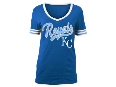 Kansas City Royals MLB Women's Retro V T-Shirt
