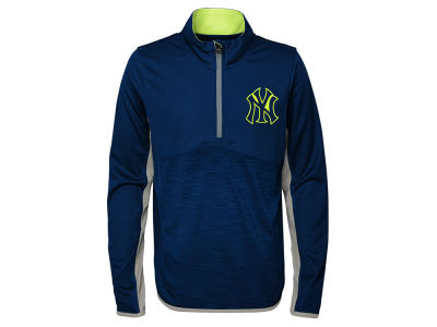 New York Yankees MLB Youth Excellence Quarter Zip Pullover