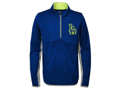 Los Angeles Dodgers MLB Youth Excellence Quarter Zip Pullover
