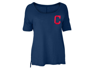 Cleveland Indians MLB Women's Relaxed Scoop T-Shirt