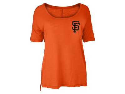 San Francisco Giants MLB Women's Relaxed Scoop T-Shirt