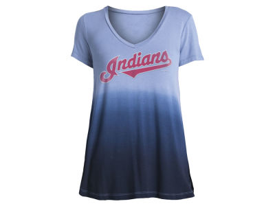 Cleveland Indians MLB Women's Ombre T-Shirt