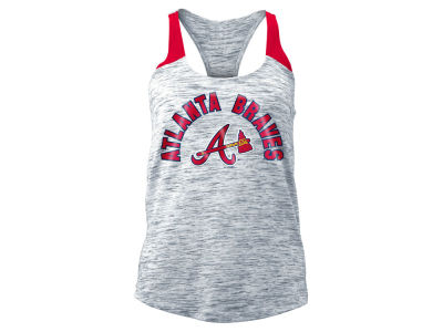 Atlanta Braves MLB Women's Space Dye Tank