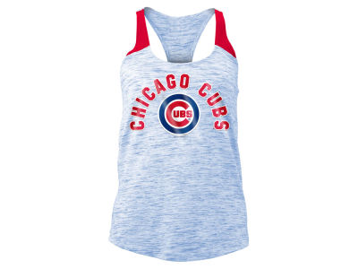 Chicago Cubs MLB Women's Space Dye Tank