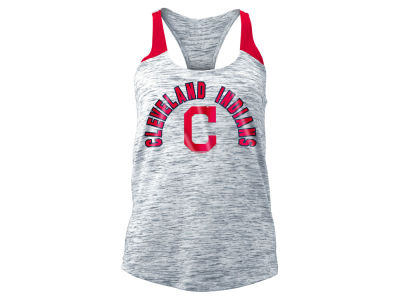 Cleveland Indians 5th & Ocean MLB Women's Space Dye Tank