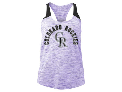 Colorado Rockies MLB Women's Space Dye Tank