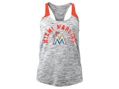 Miami Marlins MLB Women's Space Dye Tank