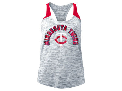 Minnesota Twins 5th & Ocean MLB Women's Space Dye Tank