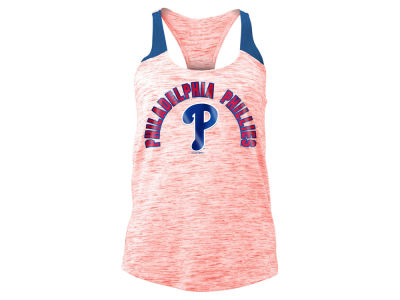Philadelphia Phillies 5th & Ocean MLB Women's Space Dye Tank