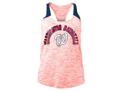 Washington Nationals 5th & Ocean MLB Women's Space Dye Tank