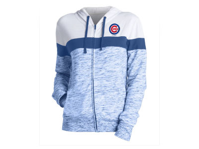 Chicago Cubs 5th & Ocean MLB Women's Space Dye Hoodie