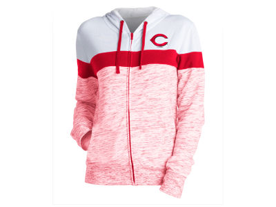 Cincinnati Reds MLB Women's Space Dye Hoodie