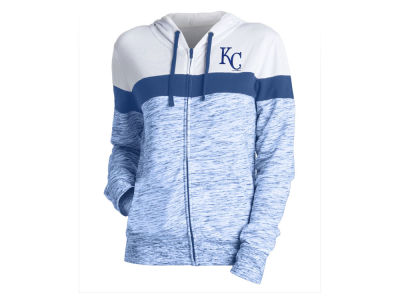 Kansas City Royals 5th & Ocean MLB Women's Space Dye Hoodie