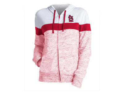 St. Louis Cardinals 5th & Ocean MLB Women's Space Dye Hoodie