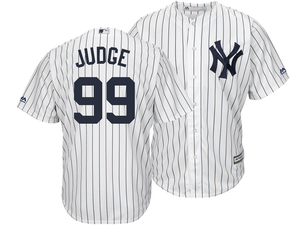 23f4d4dfb New York Yankees Aaron Judge Majestic MLB Men s Player Replica Cool Base  3XL-6XL Jersey