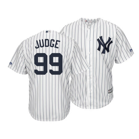 New York Yankees Aaron Judge MLB Men's Player Replica Cool Base 3XL-6XL Jersey
