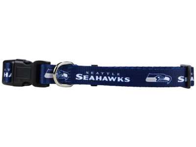 Seattle Seahawks Rico Industries Medium Dog Collar