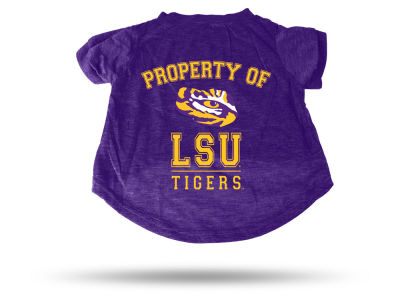 LSU Tigers Pet T-shirt Large
