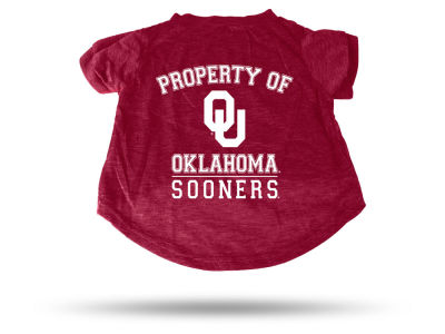 Oklahoma Sooners Pet T-shirt Large