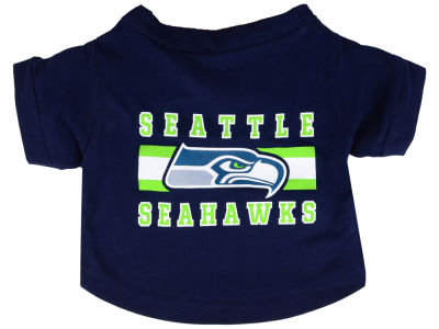 Seattle Seahawks Pet T-Shirt - Medium