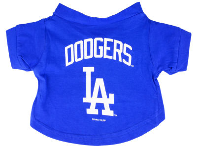 Los Angeles Dodgers Pet T-Shirt - Medium