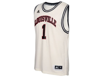 Louisville Cardinals adidas NCAA Men's Hardwood Replica Basketball Jersey