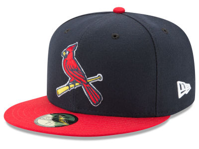 St. Louis Cardinals New Era MLB Custom Anniversary Patch 59FIFTY Cap