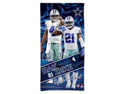Dallas Cowboys Wincraft Player Duo Beach Towel