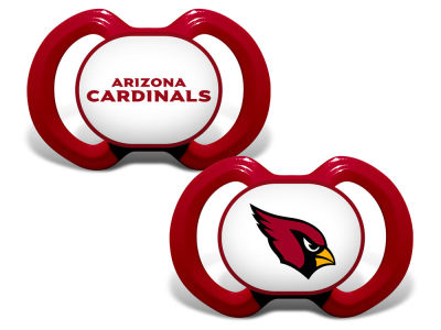 Arizona Cardinals Baby Fanatic 2-pack Pacifier Set