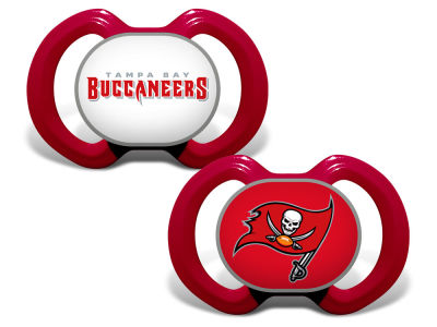 Tampa Bay Buccaneers 2-pack Pacifier Set