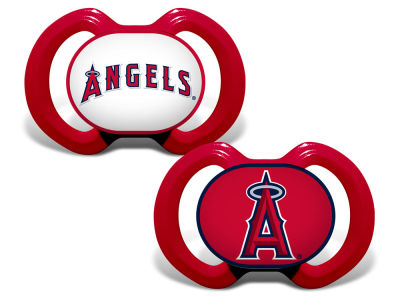 Los Angeles Angels Baby Fanatic 2-pack Pacifier Set
