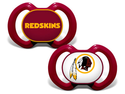 Washington Redskins Baby Fanatic 2-pack Pacifier Set