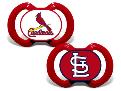 St. Louis Cardinals Baby Fanatic 2-pack Pacifier Set