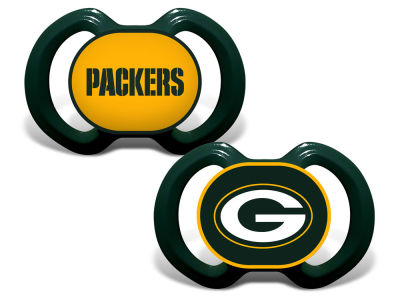 Green Bay Packers Baby Fanatic 2-pack Pacifier Set