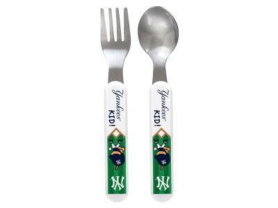 New York Yankees Baby Fanatic Cutlery Set