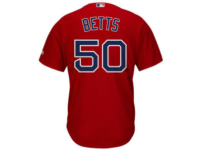 Boston Red Sox Mookie Betts Majestic MLB Men's Player Replica Cool Base Jersey