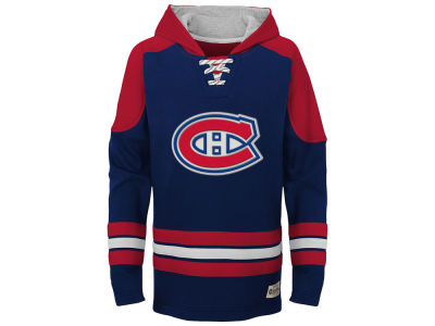 Montreal Canadiens adidas NHL Youth Legendary Pullover Hoodie