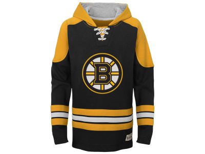 Boston Bruins adidas NHL Youth Legendary Pullover Hoodie