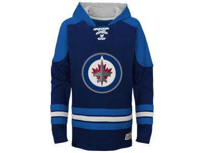 Winnipeg Jets adidas NHL Youth Legendary Pullover Hoodie