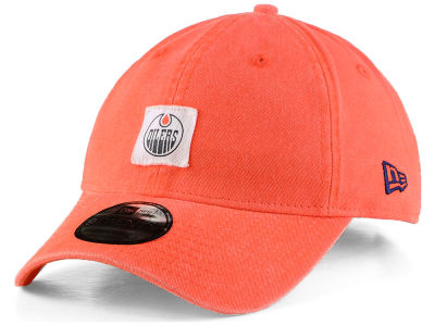 Edmonton Oilers New Era NHL Stamped Logo Slouch 9FIFTY Strapback Cap