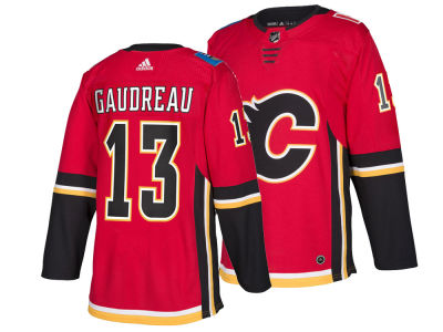 Calgary Flames Johnny Gaudreau adidas NHL Men s adizero Authentic Pro  Player Jersey 1101701ae