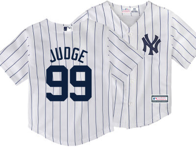 New York Yankees Aaron Judge Majestic MLB Toddler Player Replica Cool Base Jersey