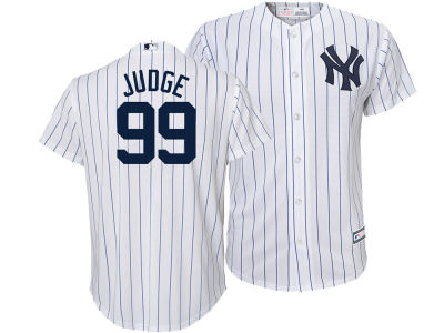 New York Yankees Aaron Judge Majestic MLB Kid's Player Replica Cool Base Jersey
