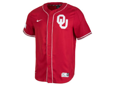 Oklahoma Sooners Nike NCAA Men's Replica Baseball Jersey