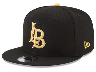 Long Beach State 49ers New Era NCAA Anguilu 9FIFTY Snapback Cap