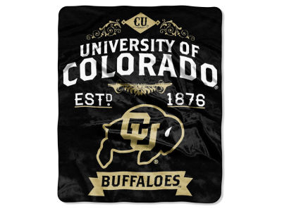 Colorado Buffaloes 50x60in Plush Throw Team Spirit