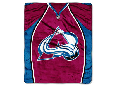 Colorado Avalanche 50x60in Plush Throw Jersey